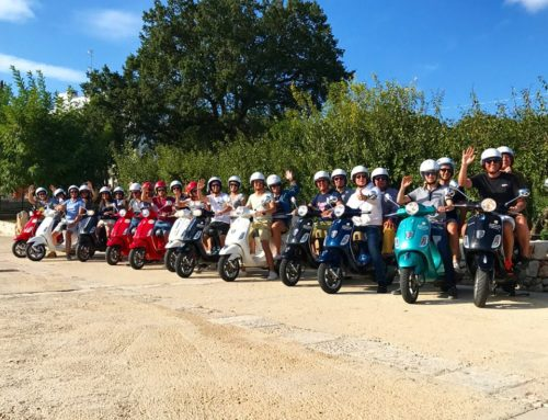 Apulia by the Vespa…Primavera all year round!